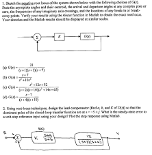sketch the negative root locus of the system shown chegg com