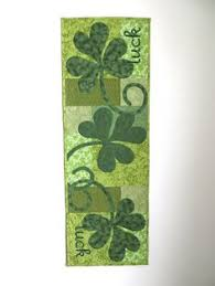 st patrick s day table runner lavender ladybugs table cards polka dots table card pinterest