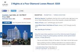 daily getaways stay at a loews hotel at a discount deals we like