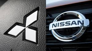 mitsubishi logo nissan mitsubishi logos motor1 com photos