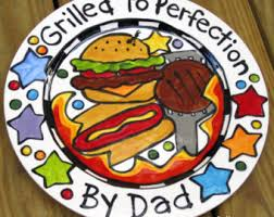 personalized bbq platter bbq serving plate etsy