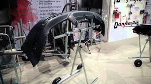 fast set up of flexible part stands at sema 2015 youtube