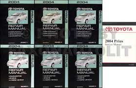 1997 toyota tacoma repair manual 2004 2008 toyota prius body collision repair shop manual original