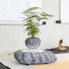 pot bonsai design sogar led magnetic levitation air bonsai suspension flower pot