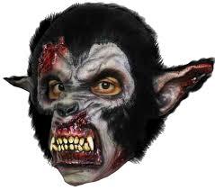 Wolfman Halloween Costume Werewolf Wolf Realistic Masks Halloween Horror Lobo Hombre
