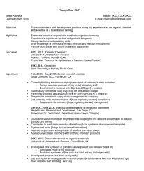 Chemistry Resume Example by Senior Chemist Resume Sample Http Resumesdesign Com Senior