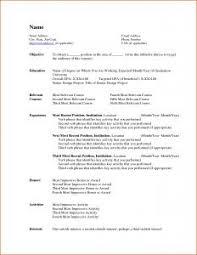 free resume templates microsoft word free resume templates 6 microsoft word doc professional and