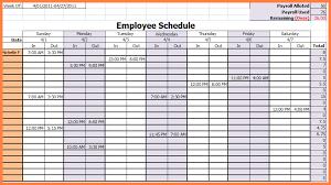 6 employee work schedule spreadsheet costs spreadsheet
