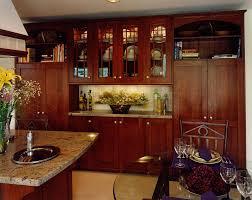 maple wood bright white prestige door arts and crafts kitchen