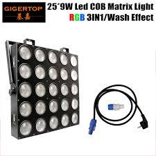 free shipping 25x9w rgb 3in1 led pixel matrix blinder light 25