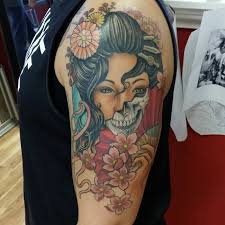 100 japanese geisha tattoos and meanings 2017 collection part 3