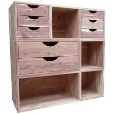 cedar closet organizer 7 pc open stackable closet system