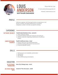 Linkedin Resume Creator by Best Free Resume Builder Free Resume Builder Templates Creative