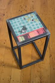 Square Accent Table Steel Accent Tables Ugone U0026 Thomas