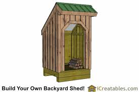 Small Wood Storage Shed Plans by Small Firewood Storage Lean To Shed Plans Outdoor Shed Plans