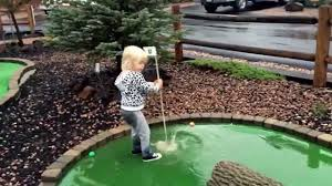 9 13 15 playing mini golf again after a huge rain storm so fun to