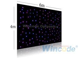 Led Light Curtain Twinkle Effects Led Curtain 4m X 6m Led Light Curtain Wall