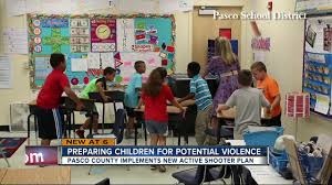 middle schooler helps to teach pasco students new active shooter