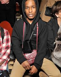 Asap Rocky Hairstyle Name Get The Look A Ap Rocky At Miu Miu U2013 Pause Online Men U0027s Fashion