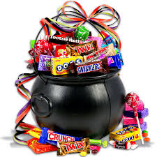 Candy Gift Basket Witch U0027s Cauldron Halloween Gift Basket Gift Basket Ideas