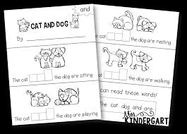 4 best images of printable preschool sight word books