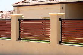 Fence Design Ideas Get Inspired By Photos Of Fences From - Brick wall fence designs