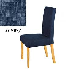 blue chair covers navy blue dining room chair covers dining room decor ideas and