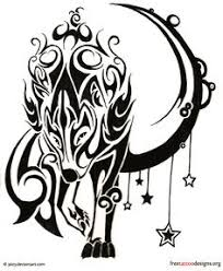 butterfly wolf tattoos celtic winged wolf tattoo designs wolf