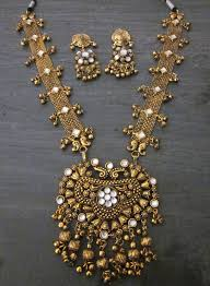 gold vintage statement necklace images Vintage statement gold tone filigree necklace fashion jewelry boho jpg