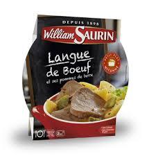 cuisine langue de boeuf langue de boeuf plats préparés et cuisinés par william saurin