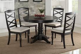 Espresso Dining Room Set by 5 Pc Bridget Iii Collection