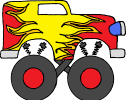 bigfoot monster truck logo free clip art of monster truck clipart 2852 best flames monster