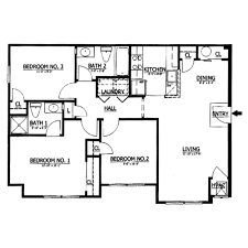 Floor Plans Under 1000 Square Feet 1000 Square Feet House Design Home Deco Plans