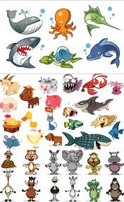cartoon animals vector 2 vector graphics blog