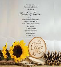 Wedding Rehearsal Dinner Invitations Templates Free 21 Sunflower Wedding Invitation Templates U2013 Free Sample Example