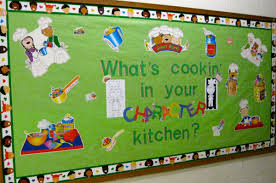 kitchen message board ideas what s cookin in your character kitchen bulletin board idea