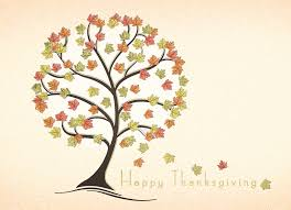 funky fall tree thanksgiving cards lacasa printing wish a happy