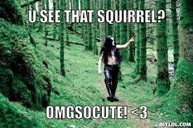 Black Metal Meme Generator - black metal forest meme generator u see that squirrel omgsocute 3