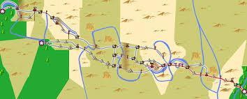 map of oregon i 5 burgeoning ego oregon trail iphone map