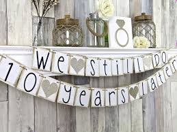 10 year anniversary ideas best 10th wedding anniversary party ideas photos styles ideas 10