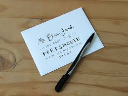 how to hand letter an envelope diy network blog made remade diy
