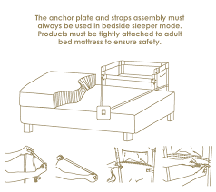 How To Convert A Crib To A Bed by Co Sleeper Baby Bassinets Assembly Instructions Arm U0027s Reach