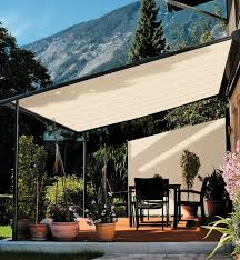 Homemade Retractable Awning Charming Pergola With Retractable Shade Crafts Home