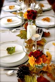 thanksgiving table setting ideas coastal
