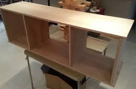 Building Wooden Computer Desk by How To Build A Simple Diy Tv Stand Using Wood Removeandreplace Com