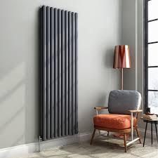 modern kitchen radiators ibathuk 1800 x 600 mm modern vertical column radiator anthracite