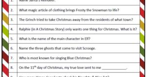 christmas quiz merry christmas part 2