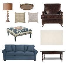 cindy crawford home bellingham indigo sofa online interior