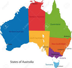 map of australia with cities and states map of australia major cities travel maps and major tourist