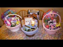 filled easter baskets boys the whats in my kids easter baskets mommydani2 within kids